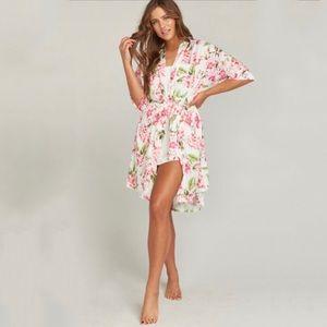 NWT Show Me Your Mumu floral Brie robe kimono
